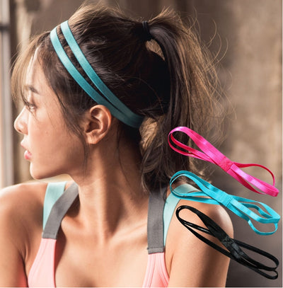Anti Slip Sports Double Hair Band