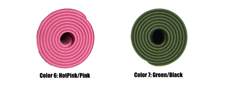 TPE Dual Color Yoga Mat