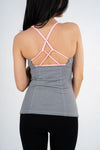 Strappy Tank Top (removable paddings)