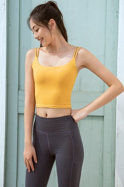 Aim Crop Top (removable padding)