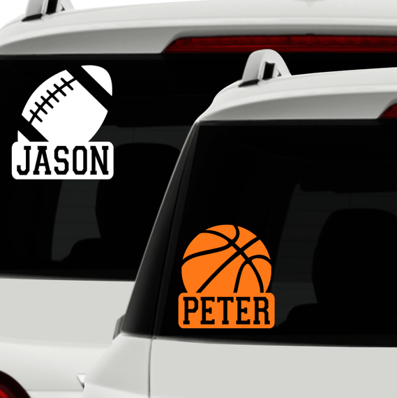 Ourdoors car decal personalized sport car decal