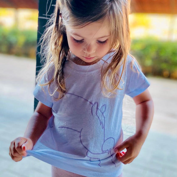 "Camiseta kids ""horse girl"""