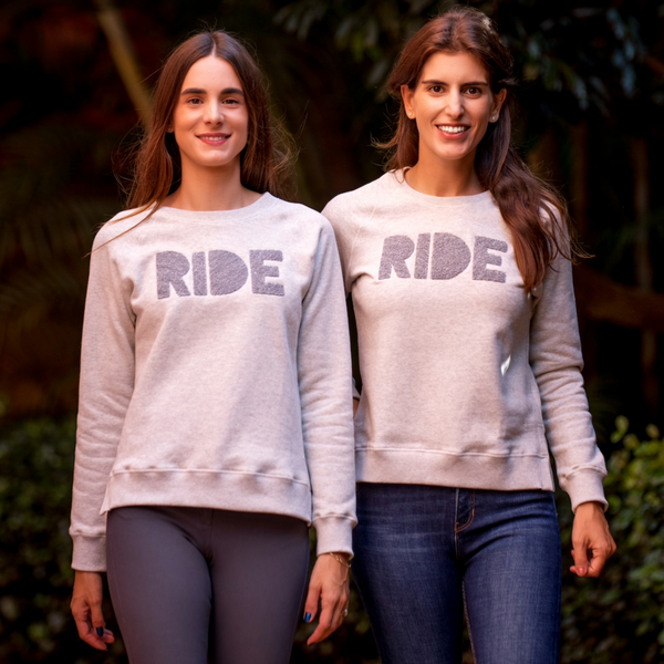 "Moletom ""ride"" 