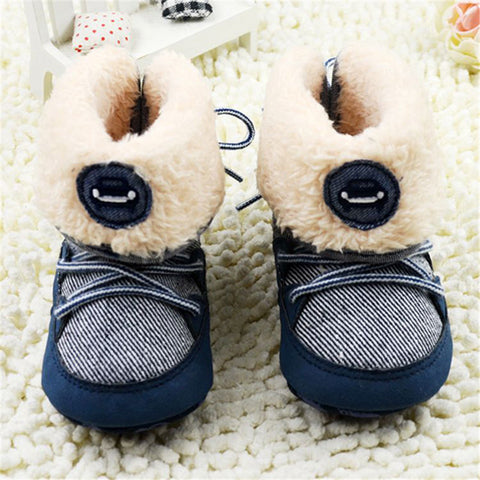 Baby Boy Winter Warm Snow Boots