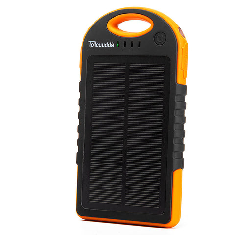 12000mAH Big Solar Panel Phone Powerbank Mobile Battery Charger Power