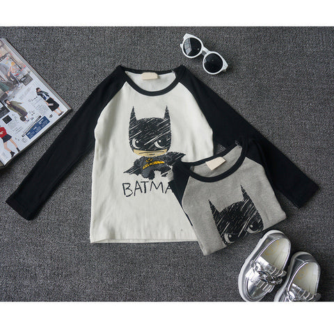 Batman fall children clothing kids t-shirt top tee