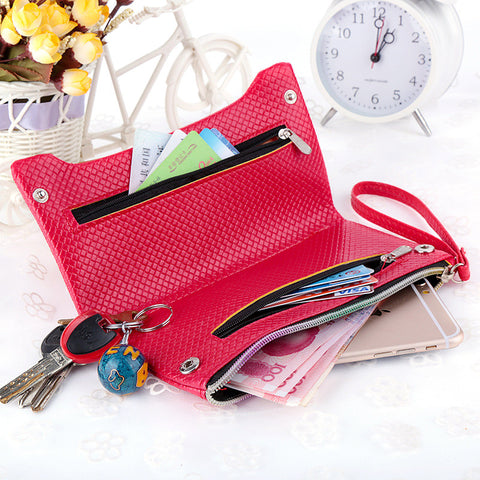 female wallet cute girl wallet coin purses women PU leather bags