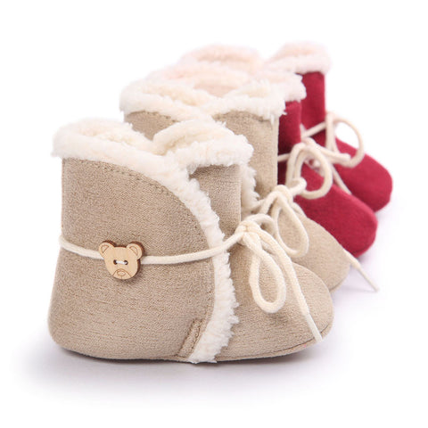 Cute Winter Boots Soft Bottom