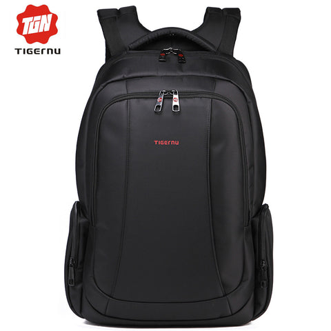 14.1 to 17 Inch Laptop Bag Backpack Men Large Capacity Nylon Compact