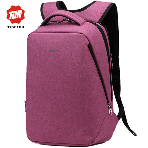 Backpack Men Women Light Slim Minimalist Fashion Women Backpack
