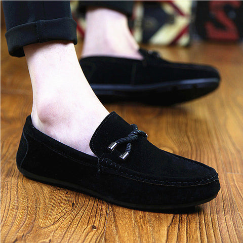 Men Casual Shoes Brand Summer Korean Shoes Men Classic Flats
