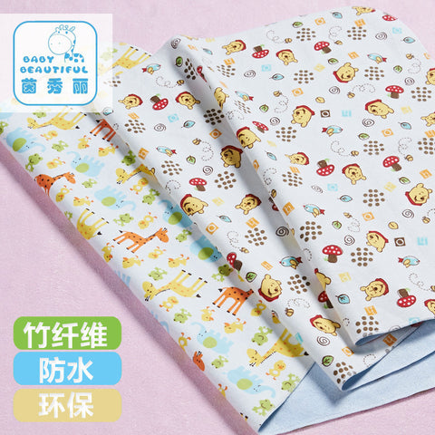 Baby Nappy Changing Flannel Washable Diaper Changing Pad& Cover