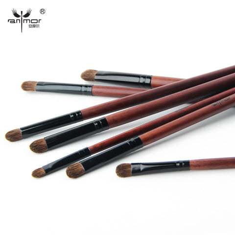 7 pcs Makeup Brushes for Eye Makeup Soft Pony Hair Make Up Brushes