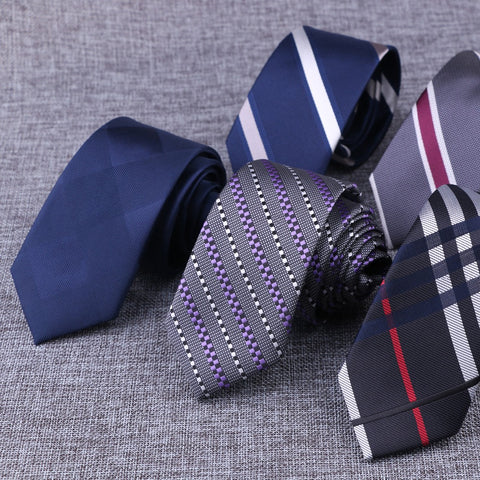 High Quality England style Stripes JACQUARD WOVEN Men's Tie Necktie
