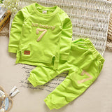 Spring Baby Boys Clothing sets Casual Sport Letters