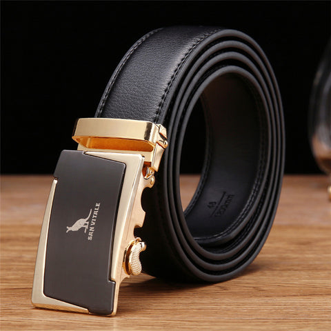 leather Belt male luxury designer belts for clothing high quality