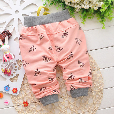 4 colors cotton baby pants