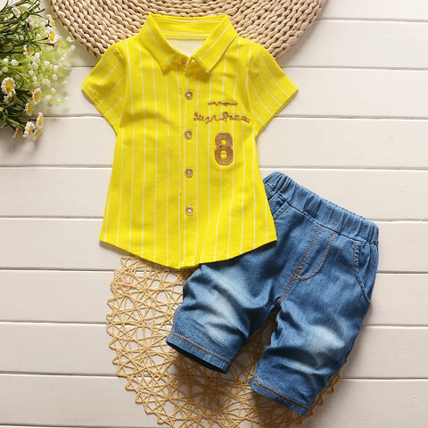 baby boys clothing sets 2pcs gentleman