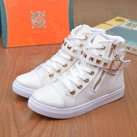 autumn spring canvas shoes for woman