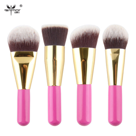 4 pcs Kabuki Brushes Synthetic Hair Stage Make Up Tools Makeup Brush