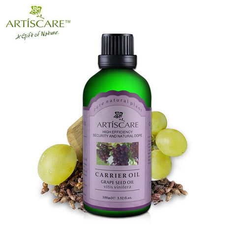100% Natural Grape Seed Base Oil 100ml for Sunscreen anti Aging