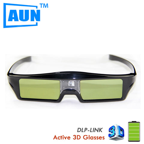 3D Glasses New Functional1 Pcs/ lot DLP-Link A Virtual Reality Active Glasses with Smart Chip 3.7v Lithium Battery EYEKX30b