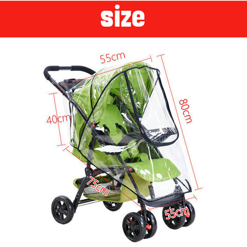 High Quality Baby Stroller Cover Universal Waterproof Rain Cover
