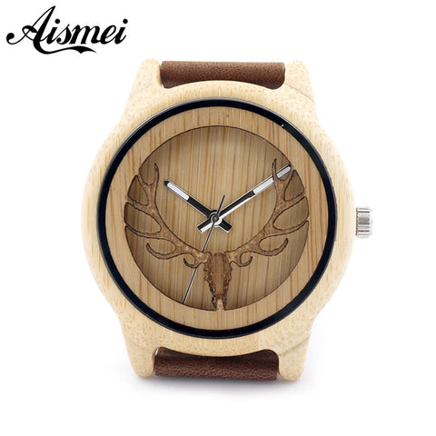 Buck Bamboo Wooden Watches Luxury Wooden Bamboo Watches