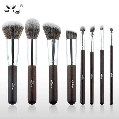 8 Pieces Makeup Brush Set Professional Synthetic Makeup Brushes