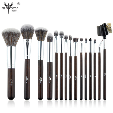 Brush Set Professional Pinceaux Maquillage Beautiful Powder Blush