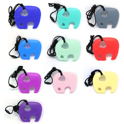 Baby Elephant Pacifier Teething Toy Chewable