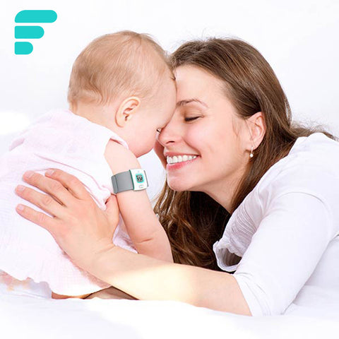 iFever intelligent wearable electronic thermometer Bluetooth