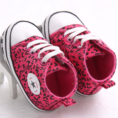 Boy Sneakers Denim Shoes Newborn Baby Shoes