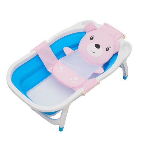 Baby cartoon adjustable bath Seat bathing