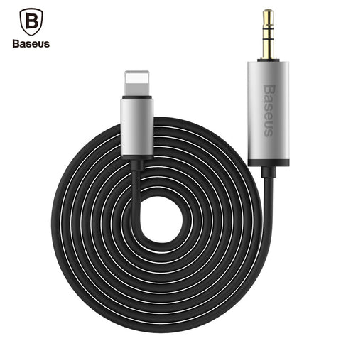 Audio Cable 1.2M 2M Jack AUX Adapter For iPhone 7 6 6S Plus SE 5 5S