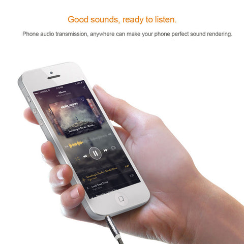 Aux Cable Male to Male Audio Cable for Car iPhone MP3 / MP4 Headphone
