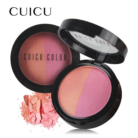 Baked Cheek Color Blush Brozer Lasting Waterproof Blush Comestics