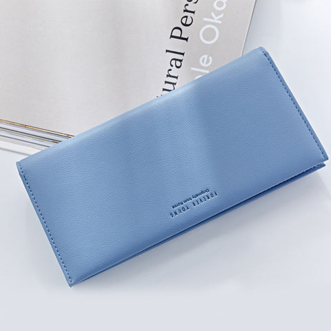 Elegant Women Leather Wallet Fashion Lady Portable