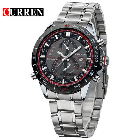causal watch Clock Men Quartz men business and travel watches Casual