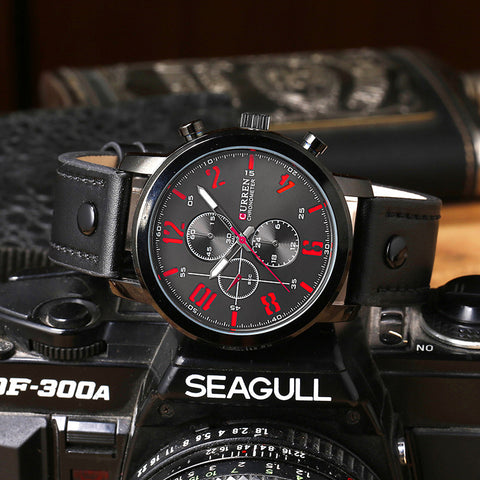 Analog Military Sports Watch Quartz Male Wristwatches Relogio Masculino