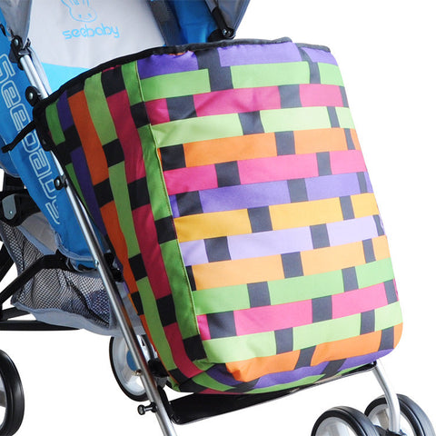 Cart foot cover thickening type baby stroller windproof