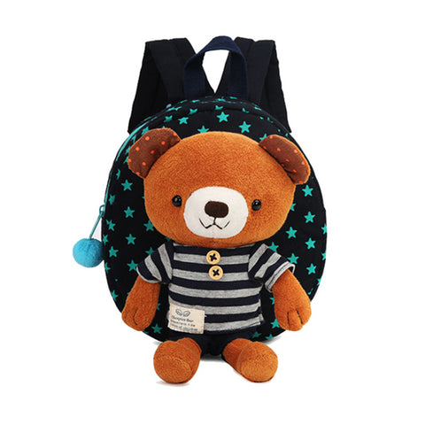Anti-lost Child Bag Cartoon Shoulder Bags Bear Harness Strap backpack