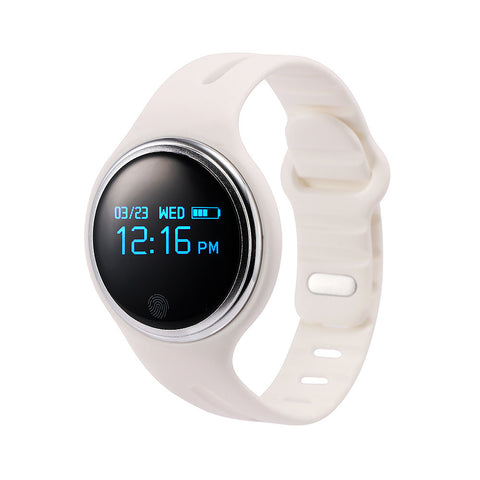E07 Bluetooth 4.0 Sports Smart Bracelet Pedometer Fitness Tracker Smartband Call Reminder for Android iOS Phones