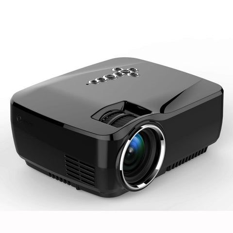 G90 Android 4.4 Wifi Projector 1G RAM+8G ROM DLAN WIFI Bluetooth Miracast Airplay EZCast TV 1200LMS HDMI MINI Beamer