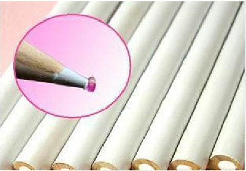 10pcs/set Top Professional Wooden Dotting Pencils Point Drill Pen for Nail