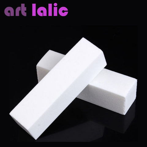 2pcs/lot Nail Art Buffer Buffing Sanding Files Block Nail Tips Manicure