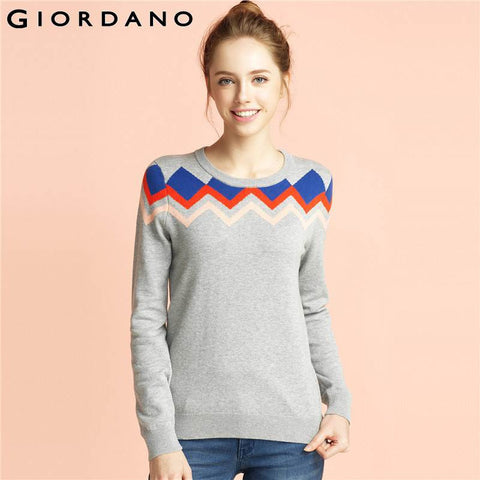 Long Sleeve Womens Sweater Brand Knitted Pullover Female Pull ...