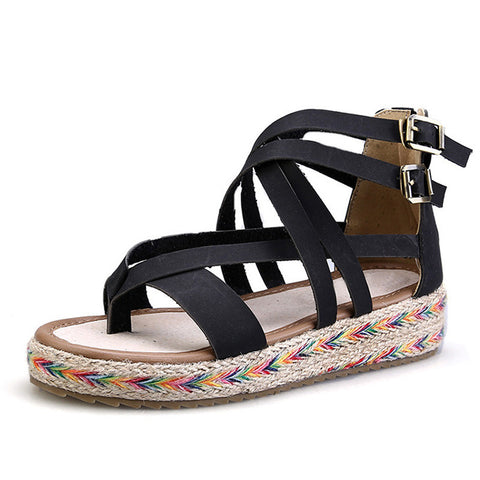 Gladiator Sandals Summer Flip Flops Creepers Casual Shoes