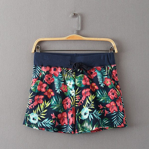 Camouflage Summer Shorts Female Cotton High Waisted Hot Short