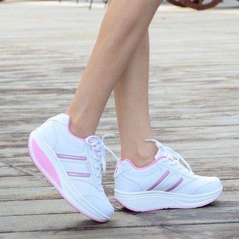Height Increasing Summer Shoes Women's Casual Shoes Sport Fashion